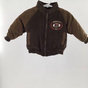 Boys wear by Nanette Infant Brown bomber jacket